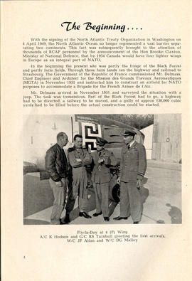 Document: 4 [F] Wing RCAF Baden-Soellingen, Germany, Information Booklet - Page 4