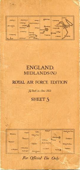 Document: Map of England Midlands