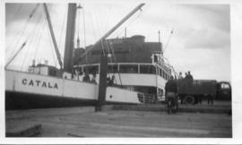Photo: SS Catala in Harbour