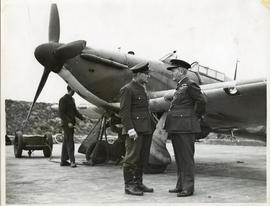 Photo: E.A. McNab with Billy Bishop