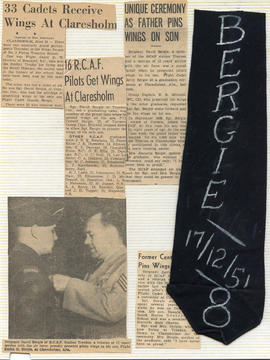 Document: Newspaper Clipping Collage