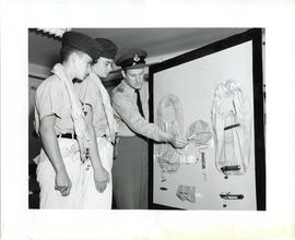 Photo: Air Cadets with F/O Dack