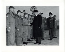 Photo: Duke of Edinburgh at 4 Wing Cold Lake - Photo 7