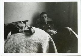 Photo: Serviceman in Chair