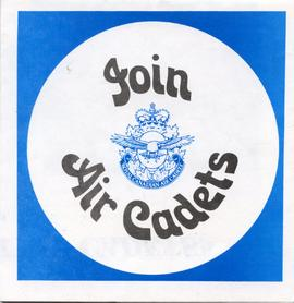 Document: Join Air Cadets - Cover