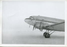 Photo: Arctic Scenery with Front Half of a DC-3