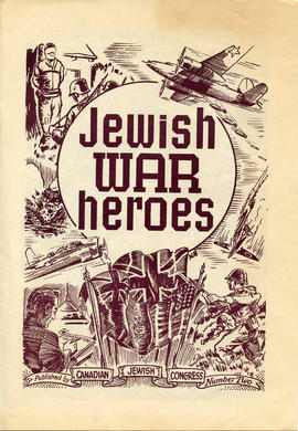 Document: Jewish War Heroes Comic - Cover
