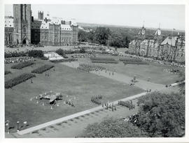 Photo: Parliment Hill During Battle of Britain Ceremony