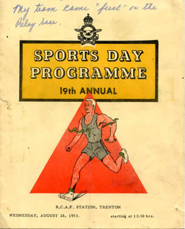 Document: RCAF Sports Day Programme - Cover