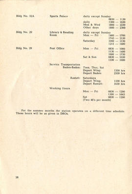 Document: 4 [F] Wing RCAF Baden-Soellingen, Germany, Information Booklet - Page 28