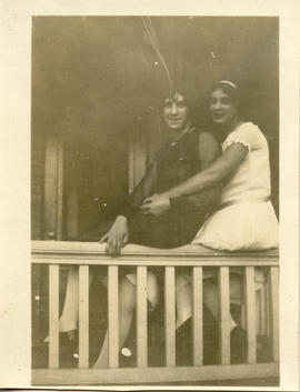 Photo: Two Women on a Porch