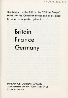 Document: Britain, France, and Germany Travel Book - Page 1