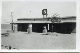 Photo: Desert Railway Station 1942