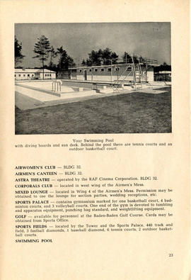 Document: 4 [F] Wing RCAF Baden-Soellingen, Germany, Information Booklet - Page 23