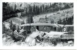 Anson Crash - Kananaskis Country (AF2013.009)