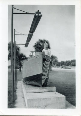 Photo: Toby with Boat - 2