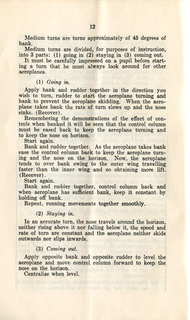 Document: RCAF Sequence of Flying Instruction Booklet - Pg 12 (AF2013.009.005)