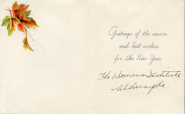 Document: Christmas Greeting Card - Inside