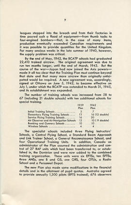 Booklet: The British Commonwealth Air Training Plan 1939-1945 (AF2012.034.007 PAGE 7)