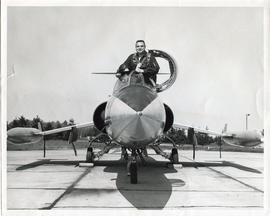 Photo: D.D. Bergie in CF-104 Starfighter