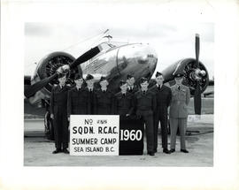 Photo: Air Cadets at Summer Camp