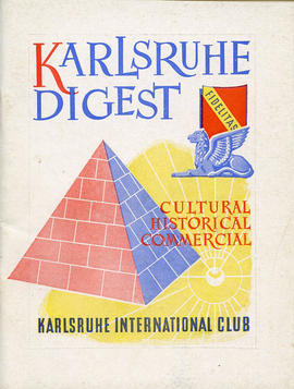 Document: Karlsruhe Digest Club Booklet - Cover