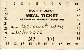 Document: Meal Ticket