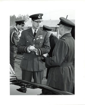 Photo: Duke of Edinburgh at 4 Wing Cold Lake - Photo 3
