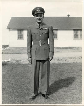 Photo: Young D.D. Bergie in Uniform