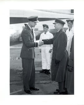 Photo: Duke of Edinburgh at 4 Wing Cold Lake - Photo 8