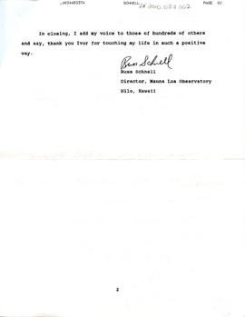 Document: Letter to Mrs. Helen Bowen - Page 3