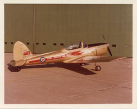 Photo: Chipmunk Aircraft in Golden Hawks Colours