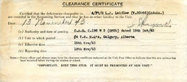 Document: Clearance Certificate