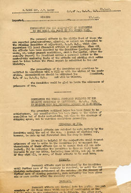 Document: Information for Next-of-Kin - May 23, 1942 - Page 1
