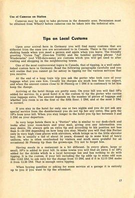 Document: 4 [F] Wing RCAF Baden-Soellingen, Germany, Information Booklet - Page 17