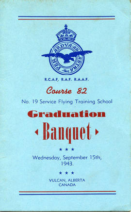 Document: Course 82 Graduate Banquet Menu - Cover