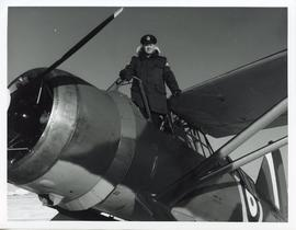 Photo: Serviceman with Lysander