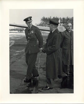 Photo: Duke of Edinburgh at 4 Wing Cold Lake - Photo 9