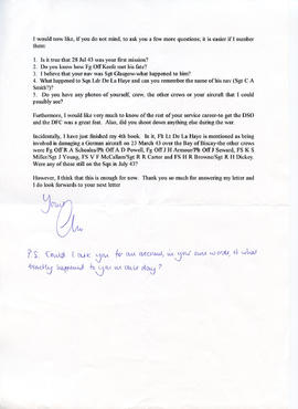 Document: Letter from Christopher H Goss - Page 2