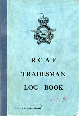Document: RCAF Tradesman Log Book - Cover