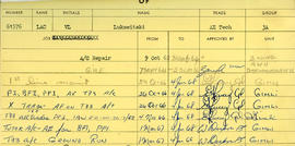 Document: RCAF Tradesman Log Book - Page 8