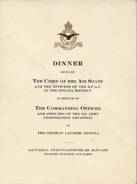 Document: Dinner Menu