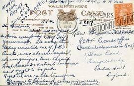 Document: A Postcard to Brown - Back