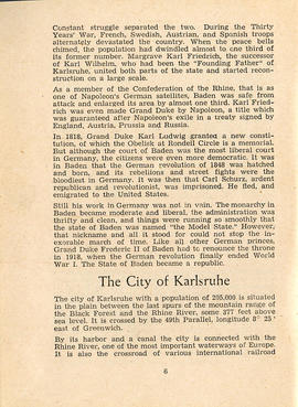 Document: Karlsruhe Digest Club Booklet - Page 6