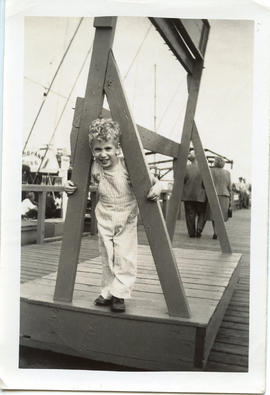 Photo: Toby at the Pier