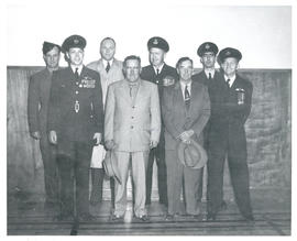 Photo: RCAF Officers and Civilians