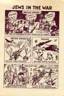 Document: Jewish War Heroes Comic - Page 2