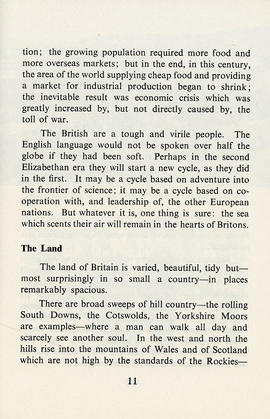 Document: Britain, France, and Germany Travel Book - Page 11