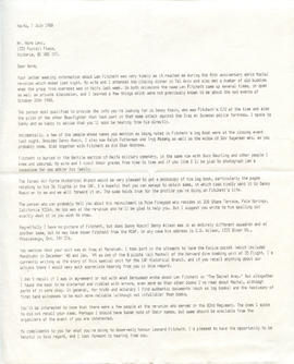 Document: Forwarded Letter from Eddy Kaplanski - Page 1
