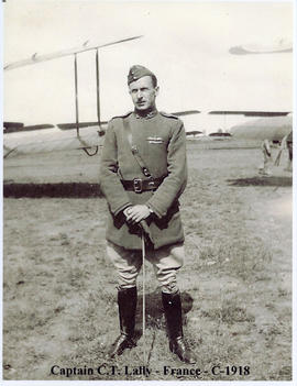 Photo: Conrad T Lally in Uniform